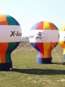 Inflamable Printed Balloons