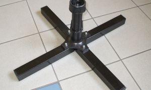 Metal Cross Stand with rotator