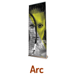 Roll Up Banner Stands - Arc