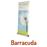 Roll Up Banner Stands - Barracuda