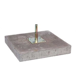 concrete base