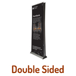 Roll Up Banner Stands - Double Sided