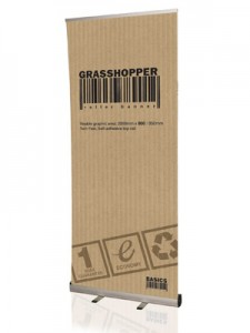 grasshopper roll up stand