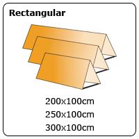 rectangular Outdoor Pop Ups
