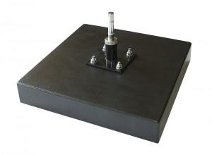 rubber metal base