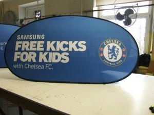 Chelsea Golf Banner