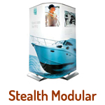 Exhibition Stands - Stealth modular